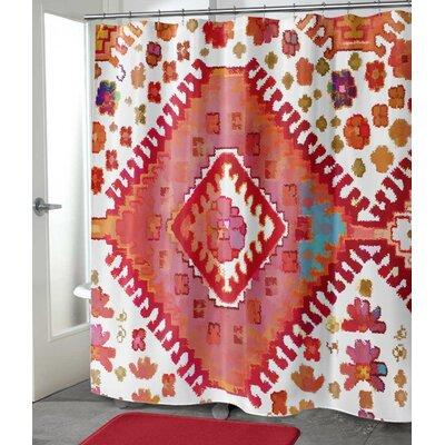 "Fitzroy Shower Curtain Size: 90"" H x 70"" W"