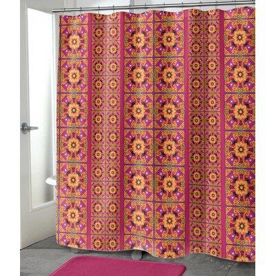 """Georgeanna Shower Curtain Size: 90"""" H x 70"""" W"""