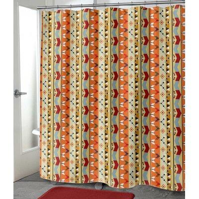 "Devin Shower Curtain Size: 72"" H x 70"" W"