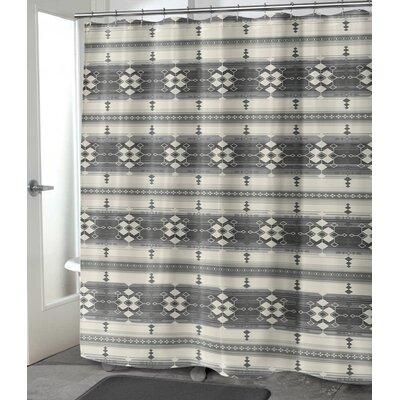 "Balcom Shower Curtain Size: 72"" H x 70"" W, Color: Gray"