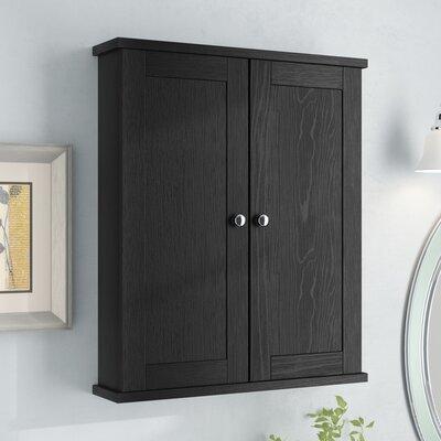 """Heitmann 21"""" Accent Cabinet Color: Black"""