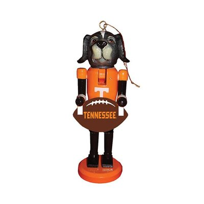 Football Nutcracker Ornament NCAA Team: University of Tennessee, Knoxville