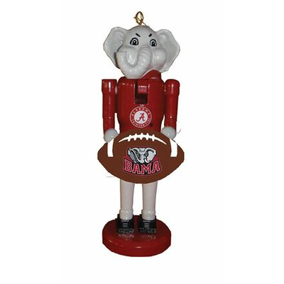 Football Nutcracker Ornament NCAA Team: University of Alabama