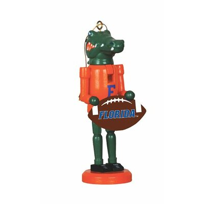 Football Nutcracker Ornament NCAA Team: University of Florida