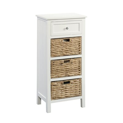 Hampton 4 Drawer Accent Cabinet