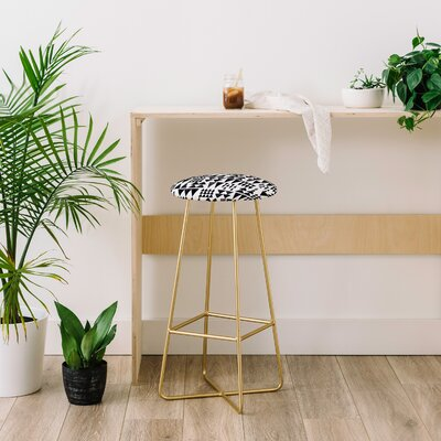 """Wonder Forest Scandinave On Repeat 30"""" Bar Stool"""