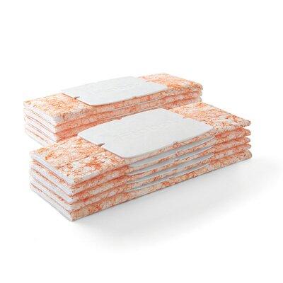 Braava jet Wet Mopping Pads (Set of 6) Color: Orange