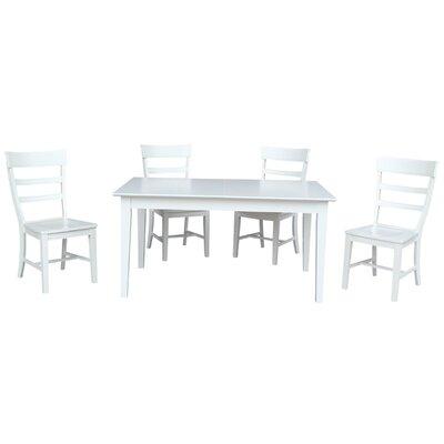 Davina 5 Piece Extendable Dining Set