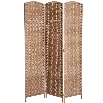 Roche Room Divider Color: Natural Wood, Number of Panels: 3