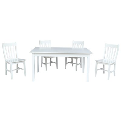 Oswald 5 Piece Extendable Dining Set