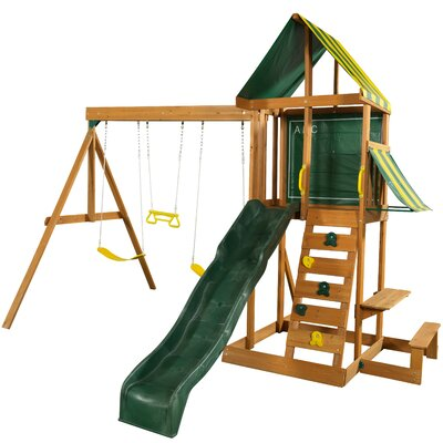 Cheap Spring Meadow Wooden Swing Set Price