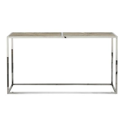 Milo Transitional Metal Console Table