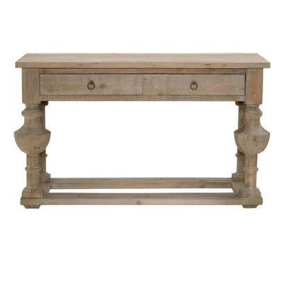 Kinsley Traditional Wooden Console Table