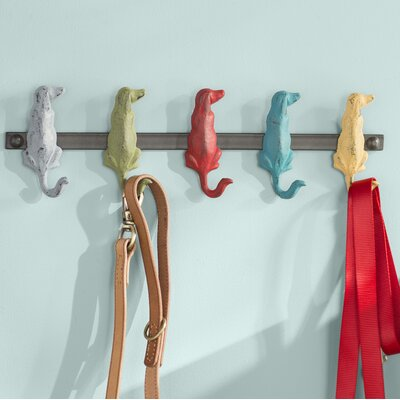 Agnes Dog Wall Mounted Coat Rack