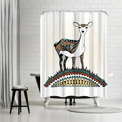 Patricia Pino Bambi Shower Curtain