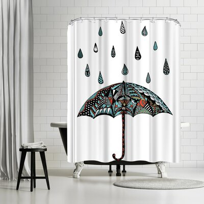 Patricia Pino Umbrella Shower Curtain