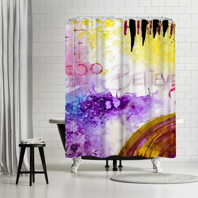 Destiny Womack Believe Shower Curtain