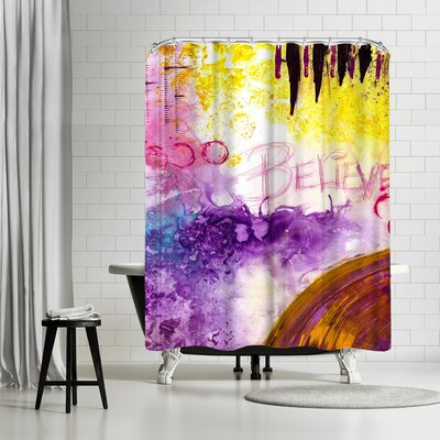 Destiny Womack Believe II Shower Curtain