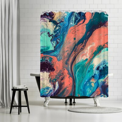 Destiny Womack Drifting Away Shower Curtain