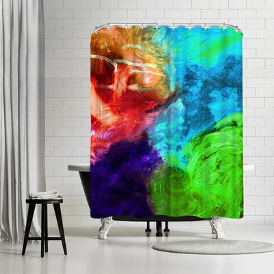 Destiny Womack Expressions 3 Shower Curtain