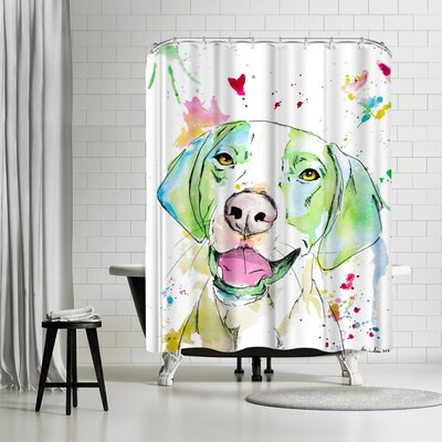 Allison Gray Otto Shower Curtain