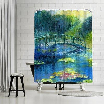 Richard Wallich Lilies 3 Shower Curtain