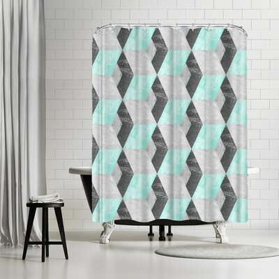 Susana Paz Falling Shower Curtain