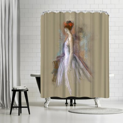 Anne Farrall Doyle Annie 9 Shower Curtain