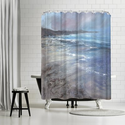 Anne Farrall Doyle Whipping Winds Shower Curtain