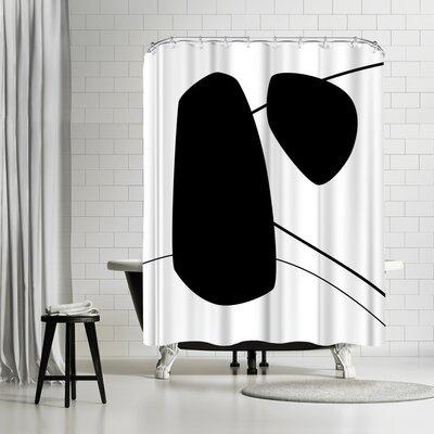 Explicit Design Bold Shower Curtain