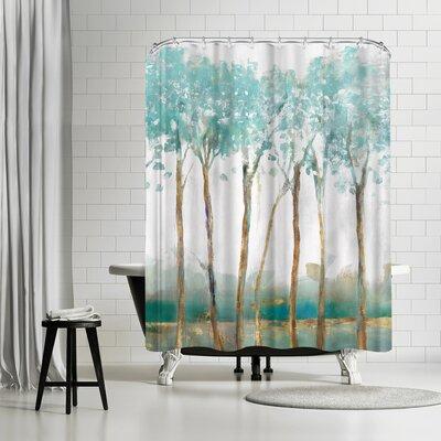 PI Creative Art Movement Shower Curtain
