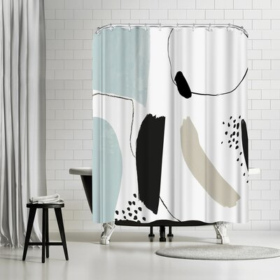 PI Creative Art Integral I Shower Curtain