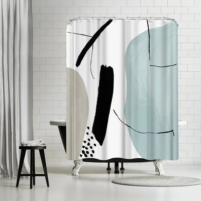 PI Creative Art Integral Ii Shower Curtain