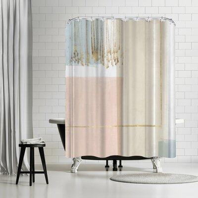 PI Creative Art Blushed Ii Shower Curtain