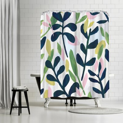 PI Creative Art Into The Forest Ii Shower Curtain