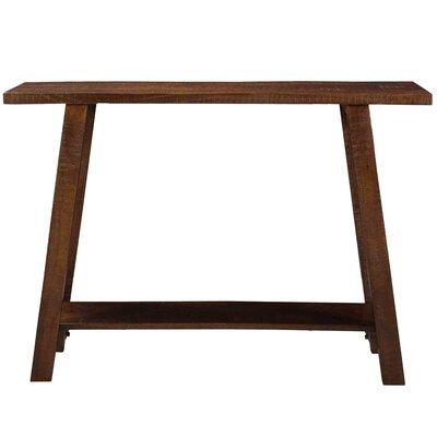 Aura Console Table Color: Walnut