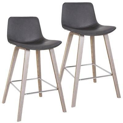 Moreland Bar Stool Upholstery: Charcoal