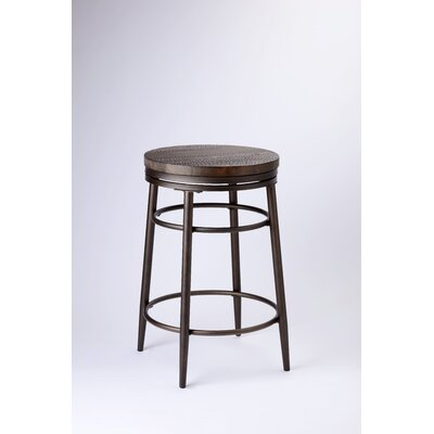 "Albus 30"" Swivel Bar Stool Color: Bronze"