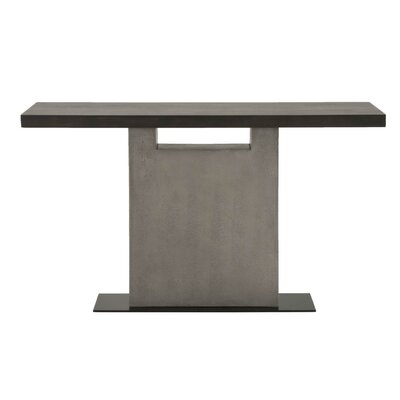 Brielle Metal Base Console Table