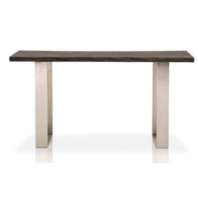 Naomi Wood Top Oak Console Table