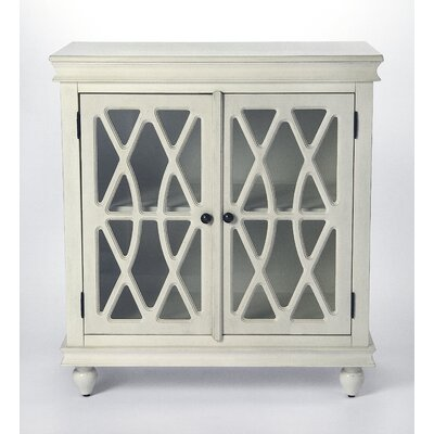Houon 2 Door Accent Cabinet Color: White