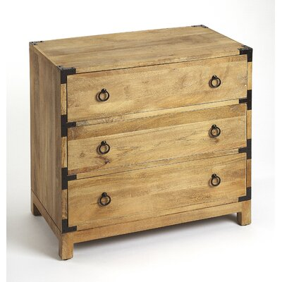 Nessa 3 Drawer Accent Chest