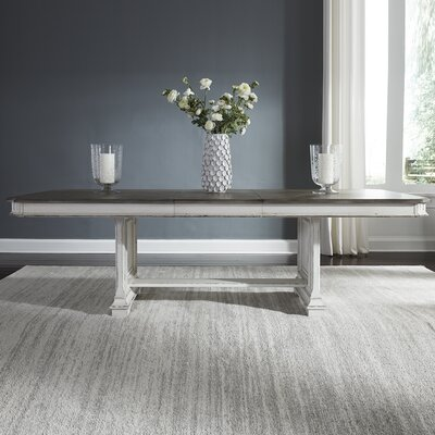Jersey Trestle Extendable Dining Table