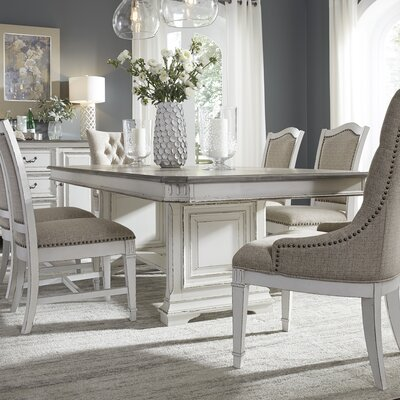 Jersey Trestle Extendable 7 Piece Dining Set