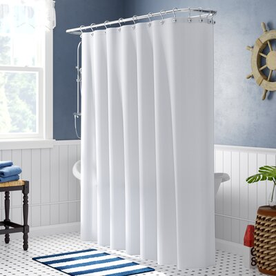 Melville Shower Curtain Color: White