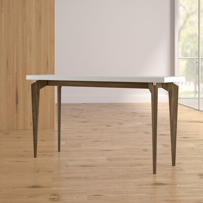 Kelly Console Table Color: Dark Brown