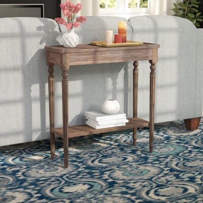 Tipton Console Table Color: Distressed Dusty Trail
