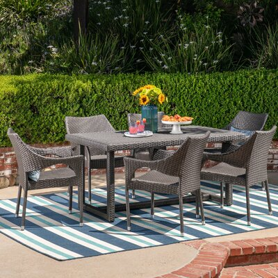 Leishman 7 Piece Dining Set with Cushions