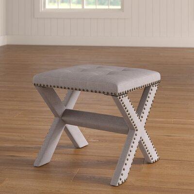 Vanhorne Upholstered Bedroom Bench Upholstery: Neutral Gray