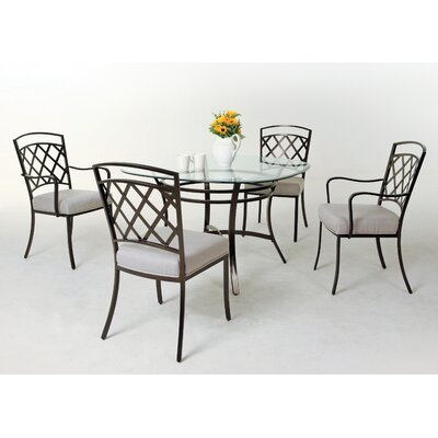 Aahil 5 Piece Dining Set